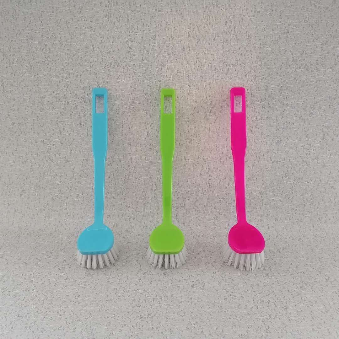Plastic Kitchen usage pot pan bowl dish cleaning Brush