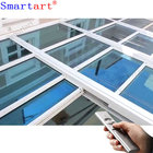Automatic Retractable Glass roof skylight for pergola
