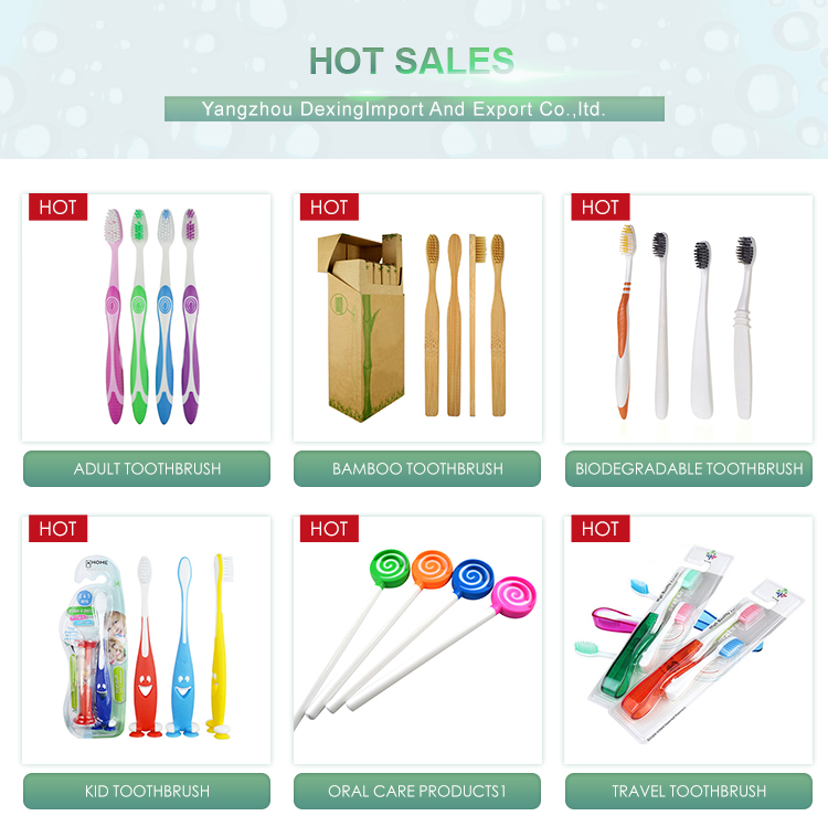 Teste di ricambio di plastica personalizzati spazzolino da denti