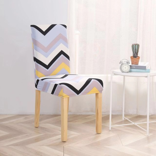 2020 Amazon hot sale cheap new designs high quality spandex dinning chair cover