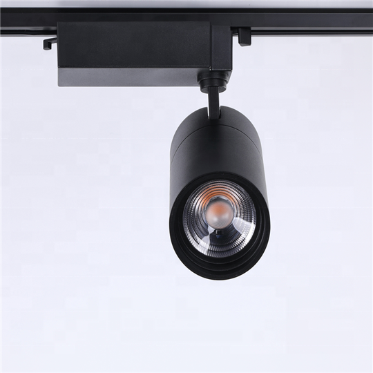 Yihong10W 20W 30W 40W Retail Spot Lighting Fixtures Surface Mounted Spotlights Linear Magnetic Rail COB Led Track Light