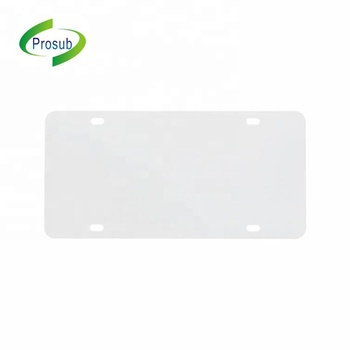 Customize Size Blank Car License Plate Sublimation Car License Aluminum Auto License Plates