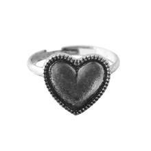 Винтажные кольца в форме сердца в форме звезды для женщин, обручальное кольцо, модные регулируемые кольца, ювелирные изделия, персонализиро...(Китай)