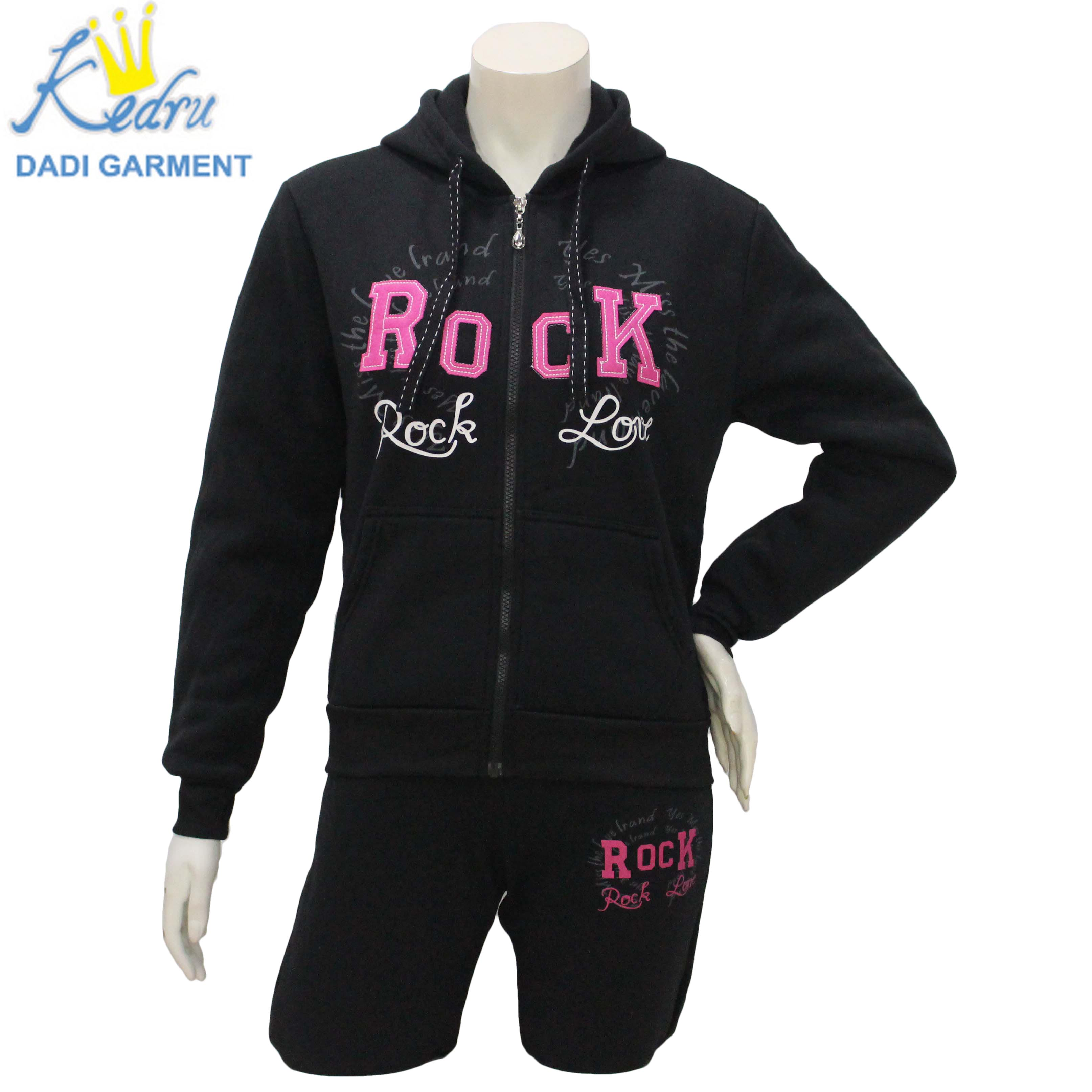 2020 Ladies Garment Stock Women Tracksuits