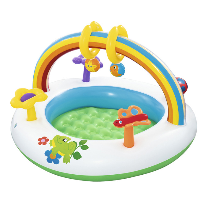 2020 Amazon Hot Selling The Baby Circular Inflatable Swimming Pool Bathtub Baby Seat Bed