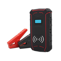 WireLess Charging 12V Auto Emergency Tools 12000Mah Multi Function Portable Car Jump Starter KC09