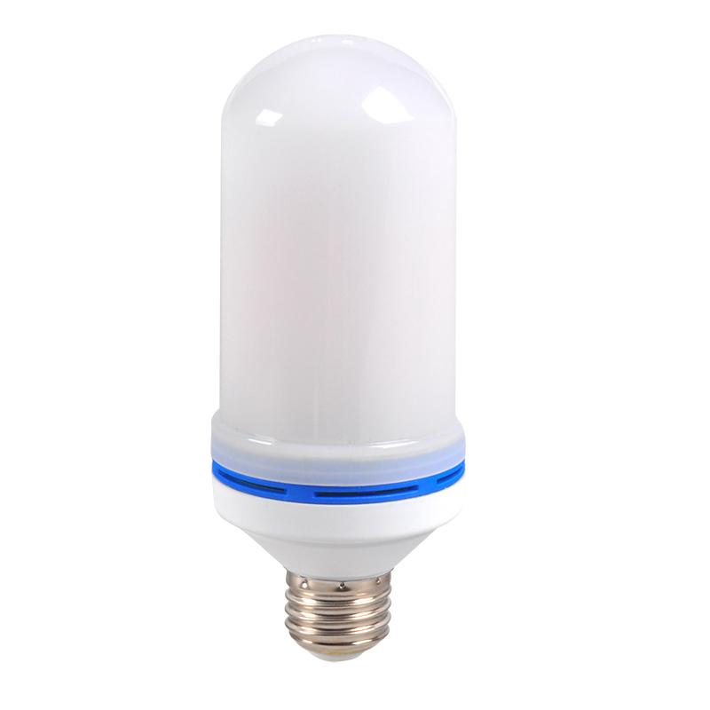 4.5w Plastics led flicker bulb flame light for haunted house thin flame bulbs