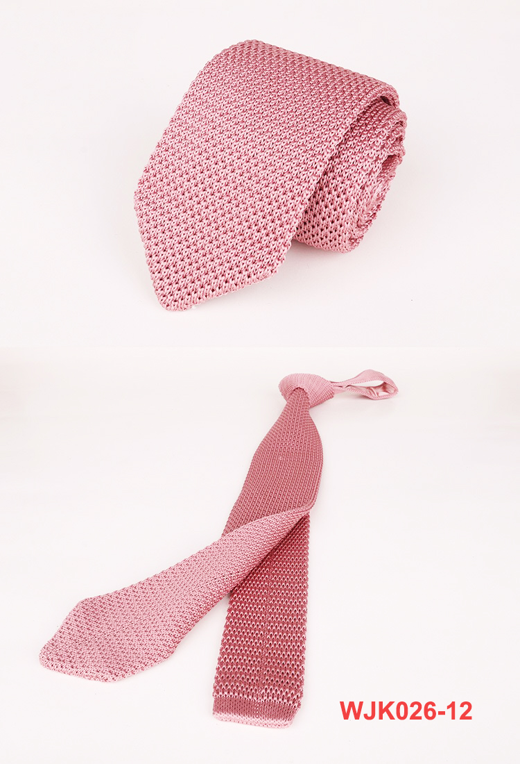 2019 Men's Neckwear Fashion Krawatte Custom Pattern Knitted Ties
