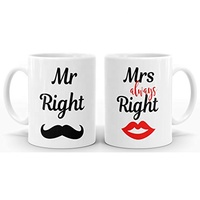 Hot Sale Personalized Handmade Custom Set Coffee Cup Gift Ceramic Mr And Mrs Mugs Gifts