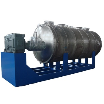 Customized Solvent Environmental Protect Vacuum Harrow Dryer Rake Vacuum Dryer