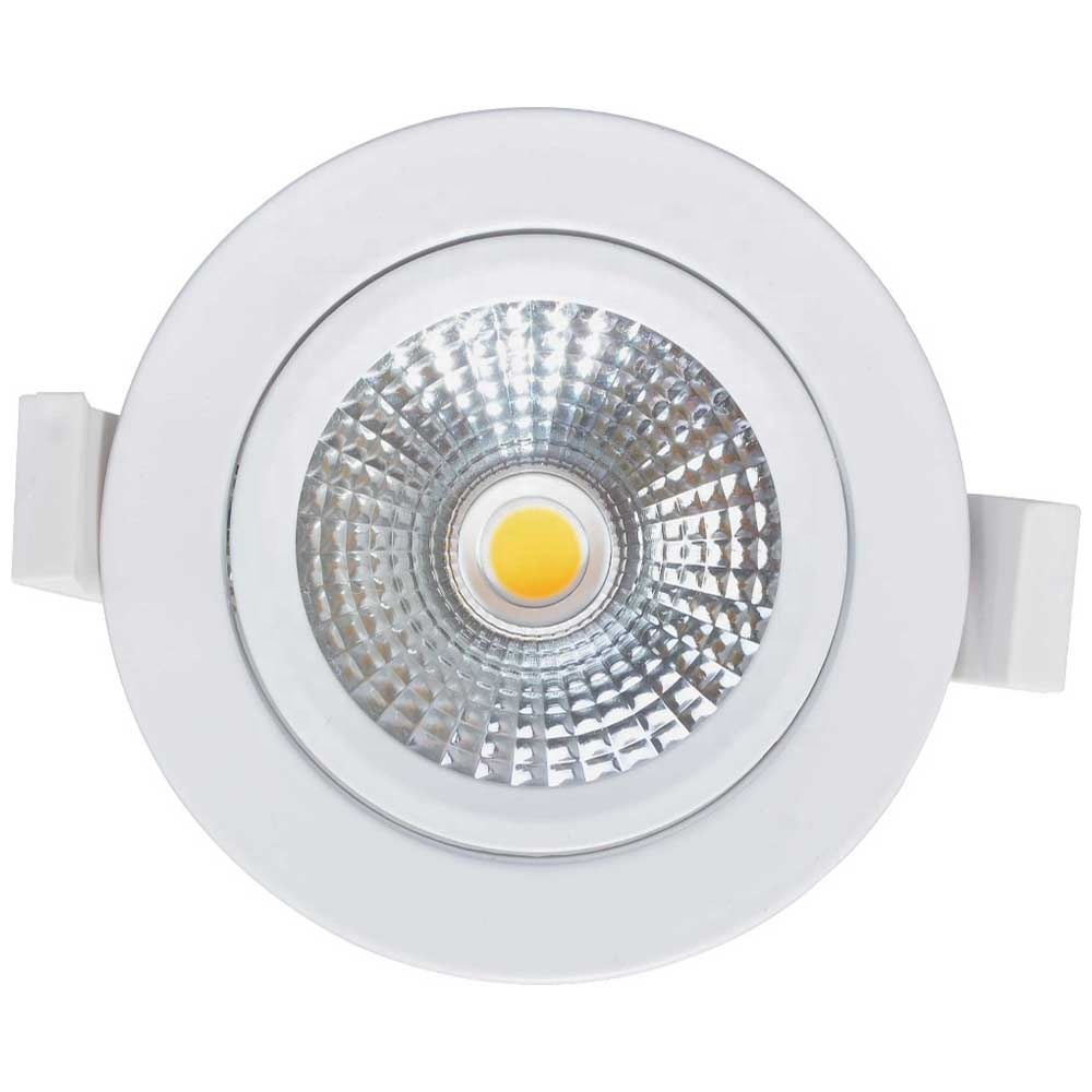 Hot selling high quality Round COB paragraph 3W 5W 7W 12W 18W adjustable led light recessed downlight 5w led hotel down light