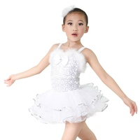 MiDee Factory Customization Costume Dresses Ballet Tutu White Snow Christmas Dance Costumes for Girls