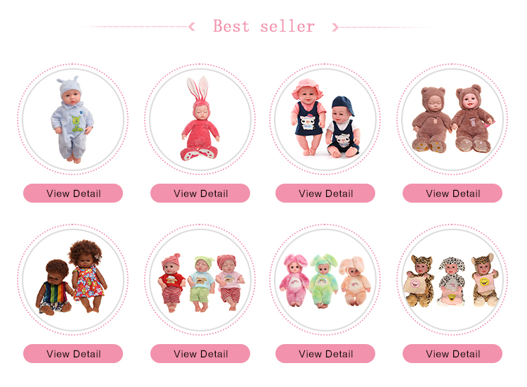 Baby photo props doll real Simulation sleeping toys plush rabbit ear pacify soft Baby Dolls vinyl reborn doll for kid girl toys