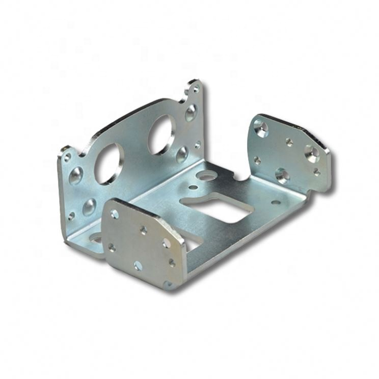 Stamping process hardware through hole small stamping metal parts, extrusion stamping and deep drawing parts