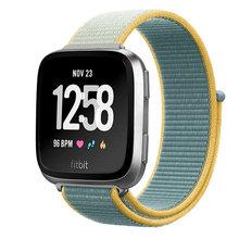 Нейлоновый ремешок для Fitbit Versa/Lite/Versa2 band смарт-часы сменный ремешок для часов Спортивный Браслет Fitbit Versa 2 band(Китай)