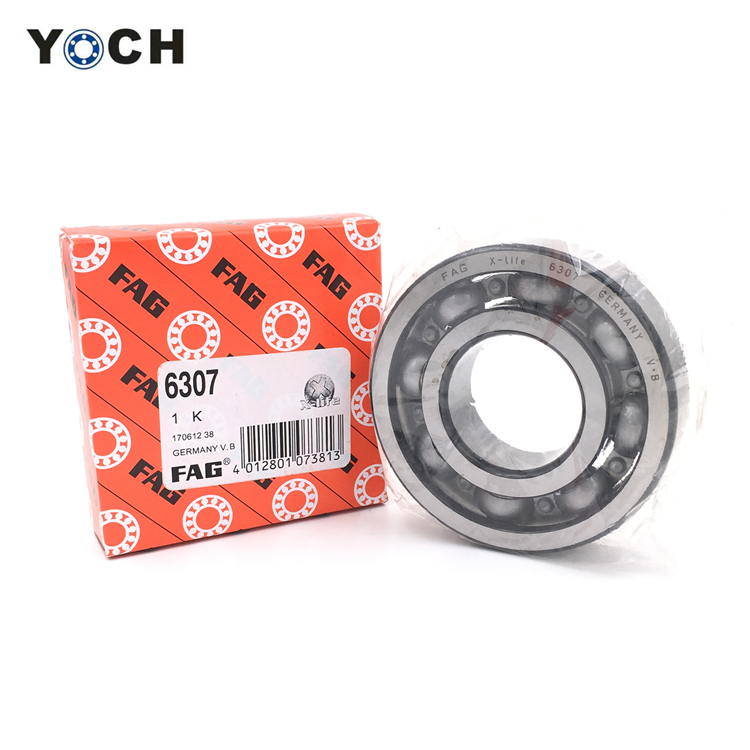 แบริ่ง FAG 6200 6201 6202 6203 6204 6205 6206 6305 6306 6308 zz 2rs Deep Groove Ball Bearing