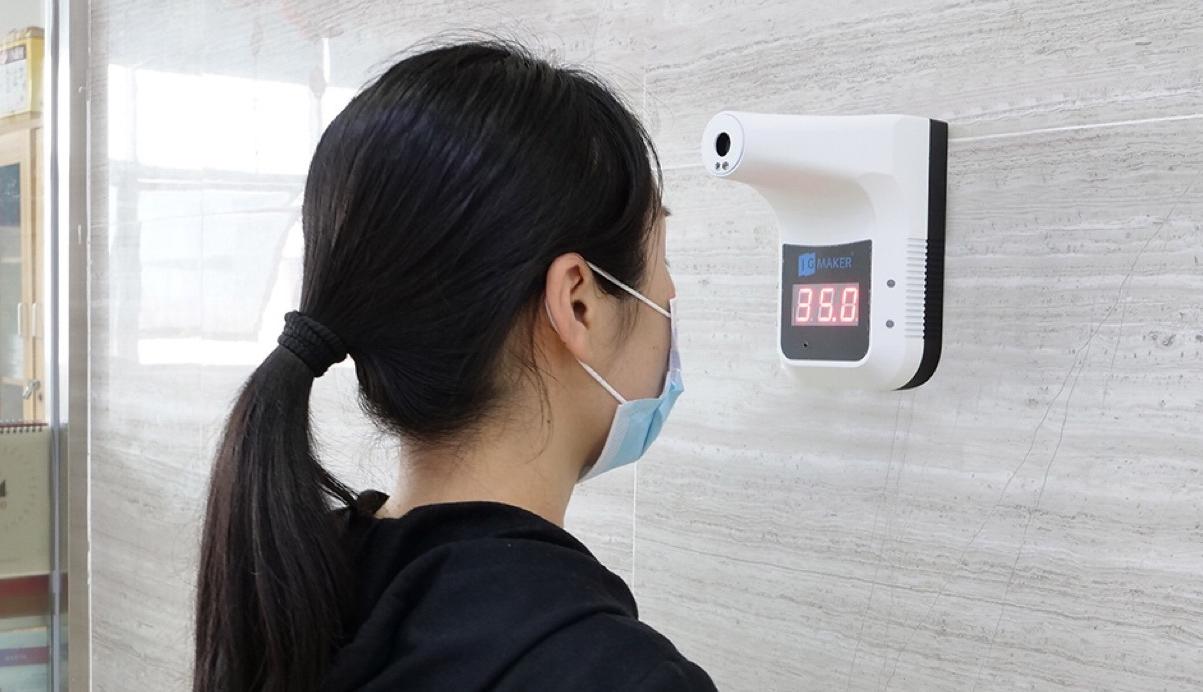 Digitale Thermometer Temperatuur Thermische Scanner K3 Body Temperatuur Sensor