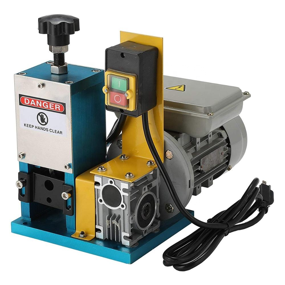 Only 12KG <strong>Scrap</strong> Copper Cable Cutting Stripping Machine Wire Stripping Machine Rental Used Wire Cutting and Stripping Machine
