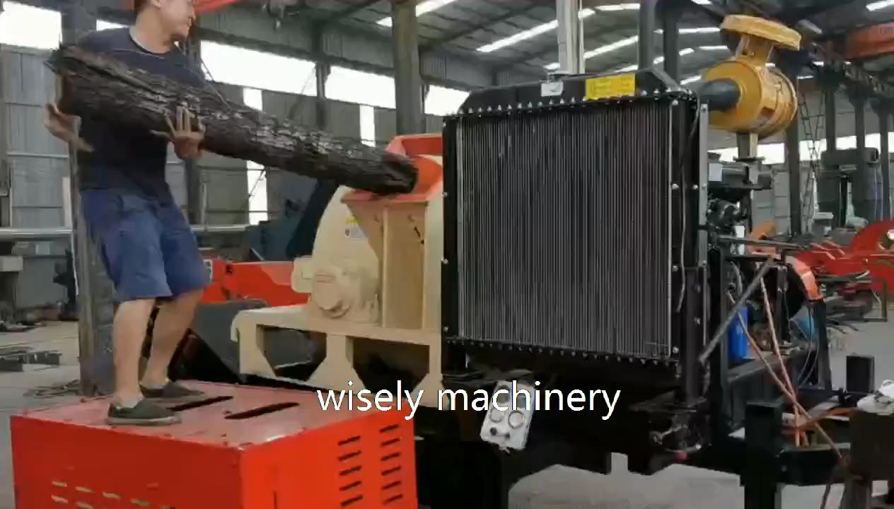 Commerciële Houtversnipperaar Shredder Machine