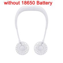 Портативный USB мини вентилятор для шеи перезаряжаемый маленький портативный спортивный вентилятор светильник Usb Настольный Ручной кондици...(Китай)