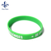 Free Sample Multi Color Decorative Customize Logo Silicone Bracelet Rubber Wristband