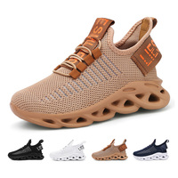 Factory Direct Wholesale OEM Kids Shoes for Boys Girls Breathable Knit Athletic Running Sneakers at good price
