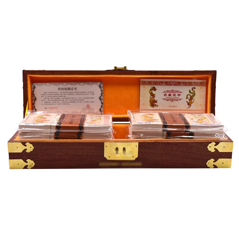 Cina Naga dan Phoenix Ukiran Uang Kertas Satu Vigintillion Dolar Uang Kertas Uang Kertas Tagihan 1000 Pcs/Kotak