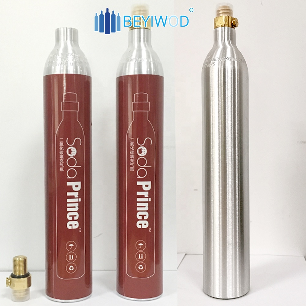 New co2 zylinders co2 gas cylinders are compatible with soda machine