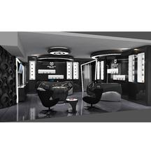 Centro commerciale nail bar infissi in legno <span class=keywords><strong>salone</strong></span> di bellezza decor