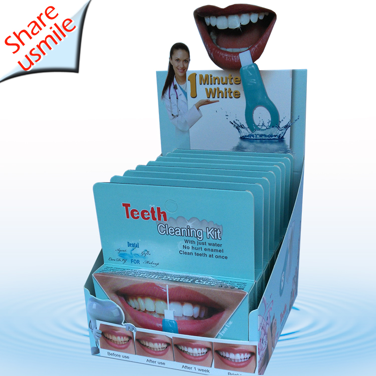 Newest innovation 2020 Dental whitening kits tartar remover at-home dental cleaning system