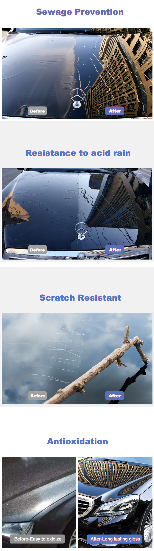 Waterless Car Wash Spray Wax for car Polishing