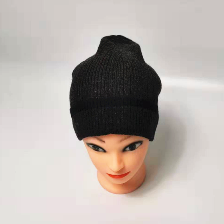 Wholesale cheap custom slouchy cashmere hats winter hat knit beanie