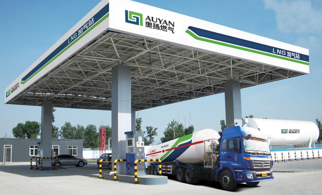 Portable Filling Stations With Fuel Dispenser gas station Lng filling station
