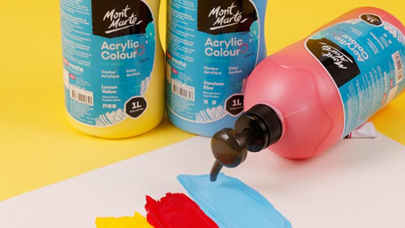 Feiyou nouveau gros Amazon vente chaude de haute qualité EN71 ASTM MSDS peinture acrylique peinture acrylique pour le travail d'art