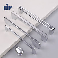 HJY Factory OEM Zinc Alloy Pull Handle Kitchen Cabinet Drawer Knobs Cabinet Knobs And Handles Wholesale