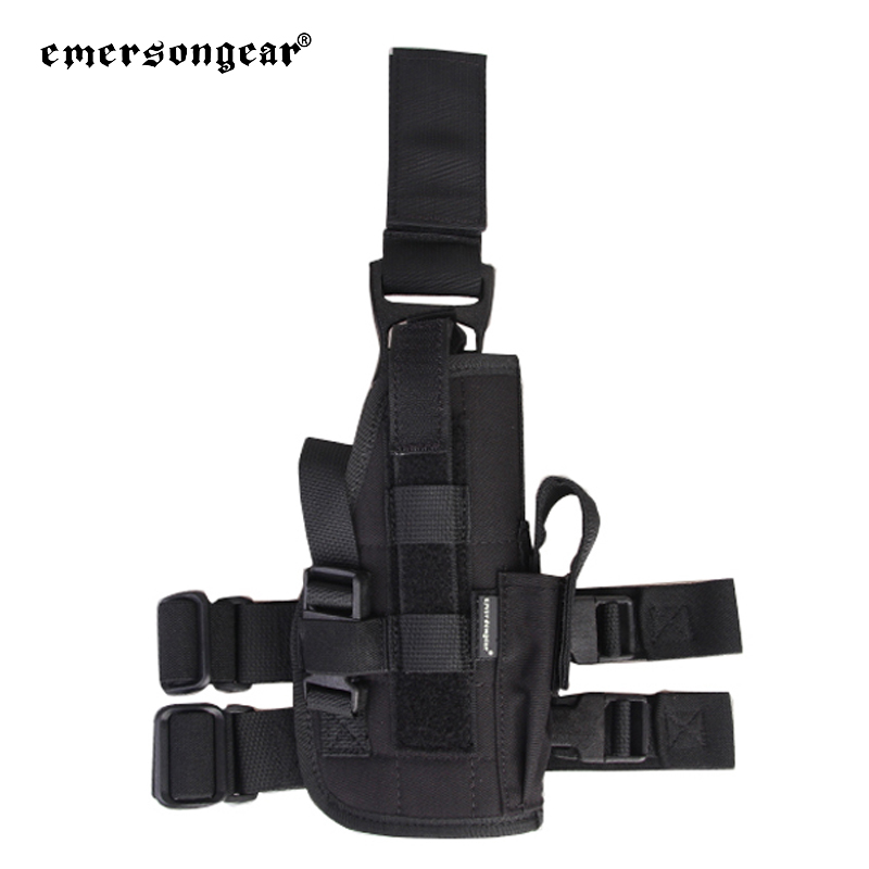 Emersongear multicam drop <strong>leg</strong> <strong>holster</strong> pistol thigh universal right left seal style tactical glock <strong>leg</strong> <strong>holster</strong>