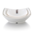 Beautiful melamine bowl for the soup ,plastic microwave bowls with handles