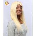 Wholesale 613 straight lace wigs 13*4 Lace Front Wigs 100% human Remy hair in Stock
