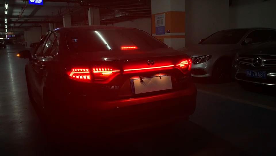Sıcak satış 2019 2020 LED DRL park lambaları için abd corolla Altis arka tampon işıkları stop lambası farlar