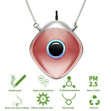 Персональный носимый очиститель воздуха ожерелье/Мини Портативный освежитель воздуха ионизатор/генератор отрицательных ионов/запах/удал...(Китай)