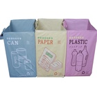 Cheap Eco-friendly Pp woven folding garbage bag from China