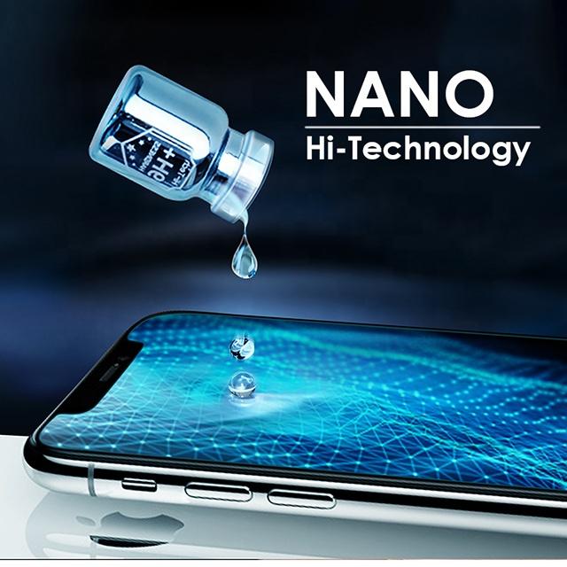 Anti Scratch Transparent Mobile Phone 9H Technology Nano Glass Liquid Screen Protector