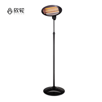 Remote control 650W 1300W 2000W outdoor standing Electric Infrared Patio Heater