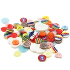 Nickel-free Button Buttons Factory Button Custom Fashion Environmental Friendly Resin Clothing Shirt Baby Colorful Button