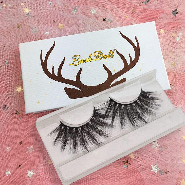 Cruelty Free Vegan 3D Faux Mink  Eyelashes Private Label 3D Silk Lashes Custom  Eyelash Package Box Wholesale Mink Lash Vendor