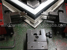 Aluminum windows manufacturing machine