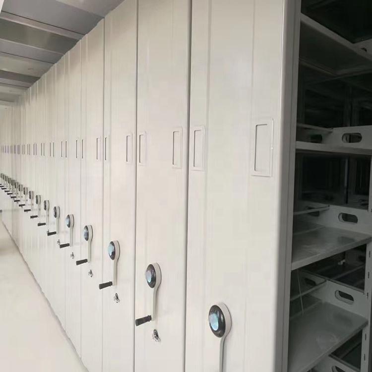 แฟ้มโลหะ movable ตู้ชั้นวางโทรศัพท์มือถือ compactor