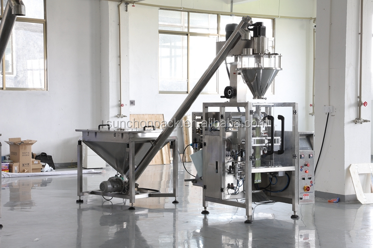 Vertical Automatic Stand Up Pouch Coffee Powder Packing Machine
