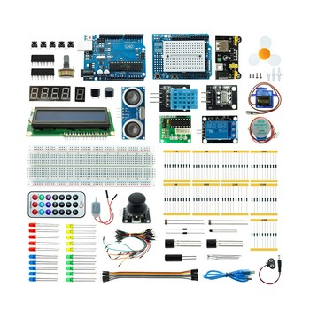 2020 Super Project DIY Electronic Kits Atmega328p UNO R3 Starter Kit For Arduino