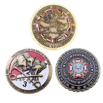 Cheap old coin prices custom metal military challenge antiqu silver old coins for collectible and souvenir